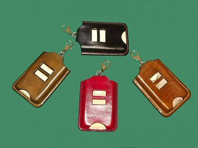 Handmade Leather Electronic Key Holders
