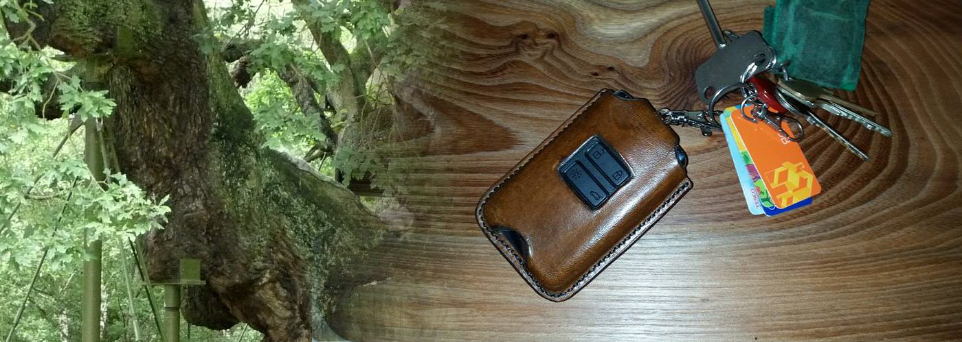 Leather Electronic Key Holders